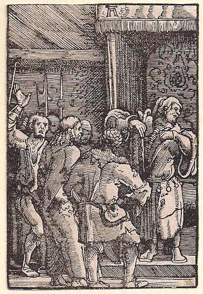 Albrecht ALTDORFER (Baviera, c.a 1480 – 1538) – CRISTO DAVANTI A CAIFA