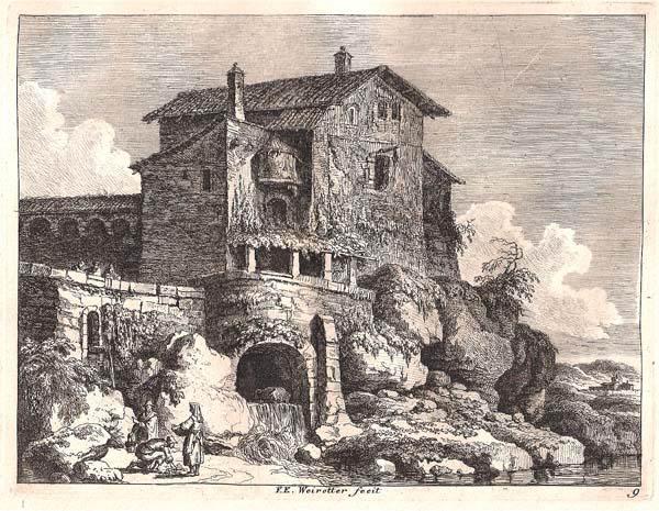 Franz Edmund WEIROTTER (Austria, 1733 – 1771) – TIVOLI