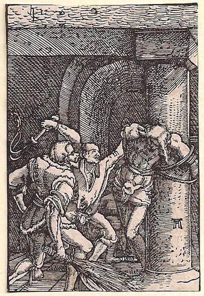 Albrecht ALTDORFER (Baviera, c.a 1480 – 1538) – FLAGELLAZIONE