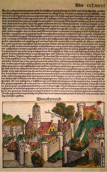 Michael WOHLGEMUT (Norimberga, 1434 – 1519) – VON OSTERREICH