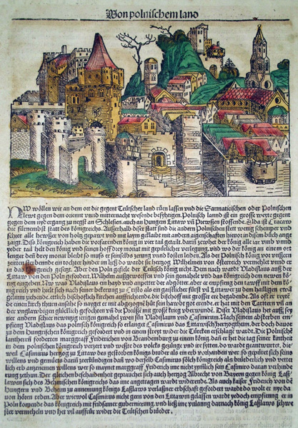 Michael WOHLGEMUT (Norimberga, 1434 – 1519) – VON POLNISCHEM LAND