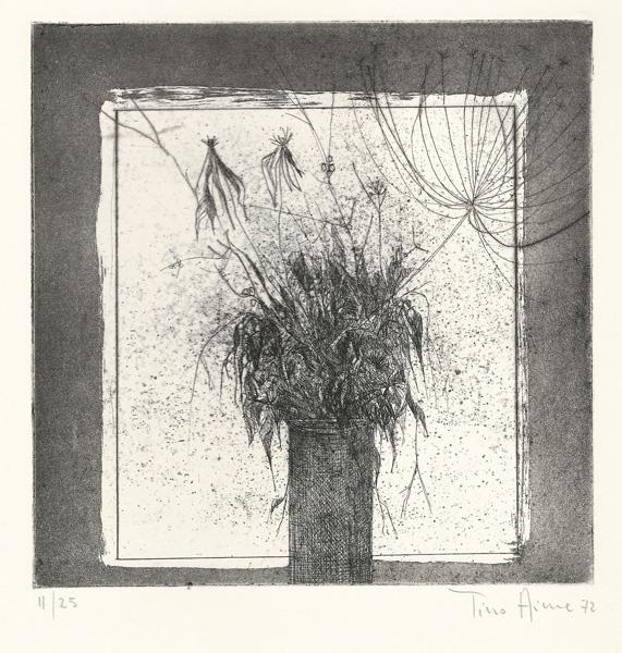 Tino AIME (Cuneo, 1931) – FIORI SECCHI (1972)