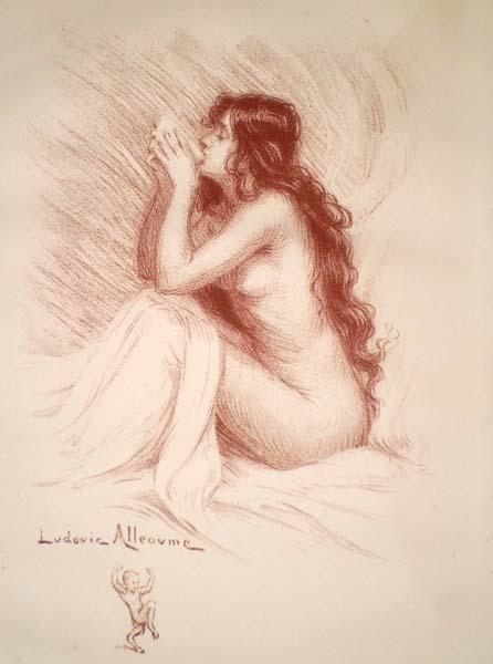 Ludovic ALLEAUME (Francia, 1859 – 1941) – PETIT DEJEUNER