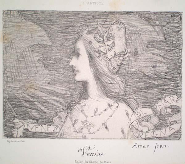 Edmond François AMAN-JEAN (Francia, 1860 – 1935) – VENISE