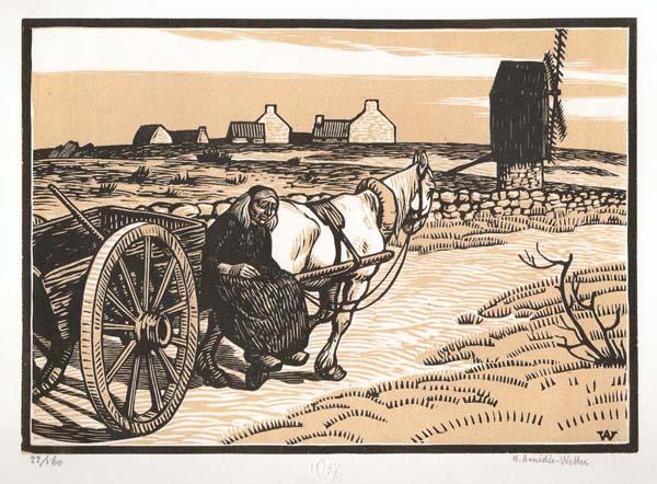 Henri AMEDEE-WETTER (Francia, 1868 – 1929)À OUESSANT