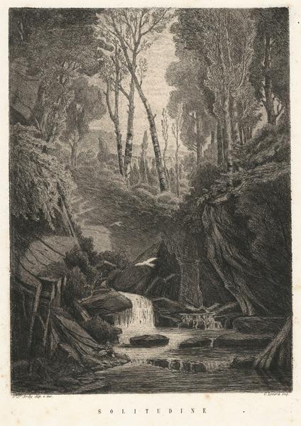 Bartolomeo ARDY (Saluzzo, 1821 – 1887) – SOLITUDINE