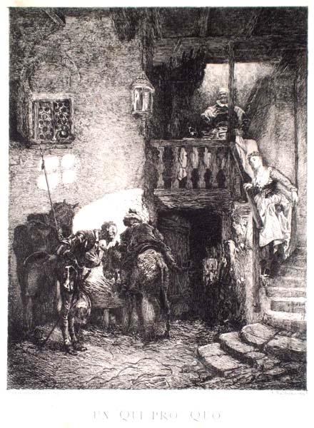 Alessandro BALDUINO (Torino, 1849 – 1891) – UN QUI PRO QUO da: E. Gamba