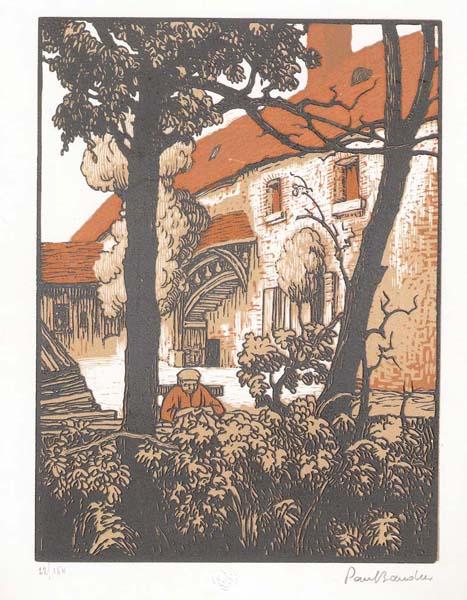 Paul BAUDIER (Francia, 1881 – 1962) – VIEILLE MAISON