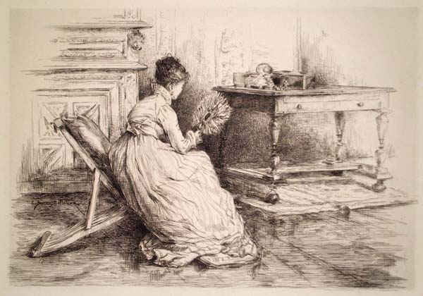 Etienne-Prosper BERNE-BELLECOUR (Francia, 1838 – 1910) – COQUETTERIE