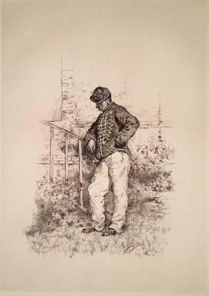 Etienne-Prosper BERNE-BELLECOUR (Francia, 1838 – 1910) – VIENDRA-T-ELLE?
