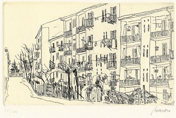Renzo BIASION (Treviso, 1915 – 1996) – CASE POPOLARI