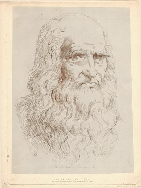 Carlo Felice BISCARRA (Torino, 1823 – 1894) – LEONARDO DA VINCI