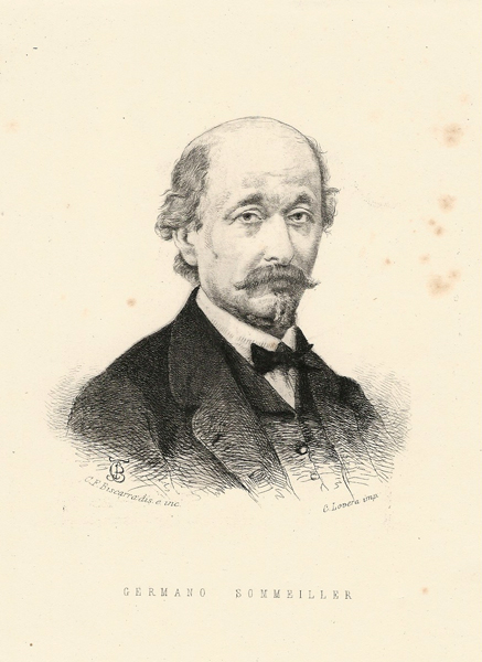 Carlo Felice BISCARRA (Torino, 1823 – 1894) – GERMANO SOMEILLER