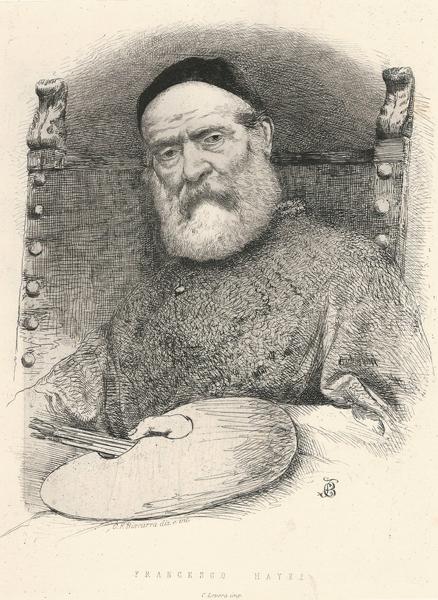 Carlo Felice BISCARRA (Torino, 1823 – 1894) – FRANCESCO HAYEZ