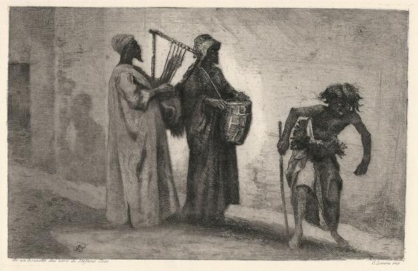 Carlo Felice BISCARRA (Torino, 1823 – 1894) – PER LE VIE DEL CAIRO