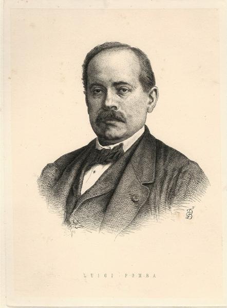 Carlo Felice BISCARRA (Torino, 1823 – 1894) – LUIGI POMBA