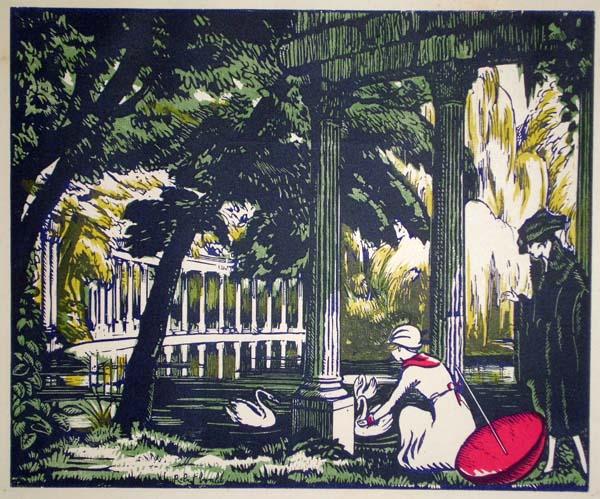 Robert BONFILS (Francia, 1886 – 1971) – NEL PARCO