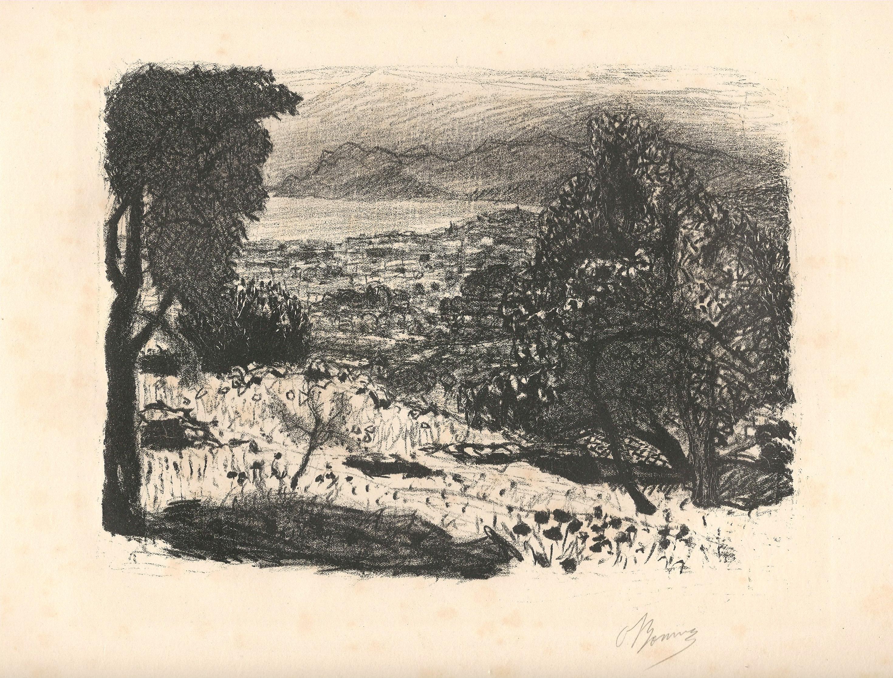 Pierre BONNARD (Francia, 1867 – 1947) – PAYSAGE DU MIDI (1925)
