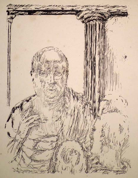 Pierre BONNARD (Francia, 1867 – 1947) – FIGURE