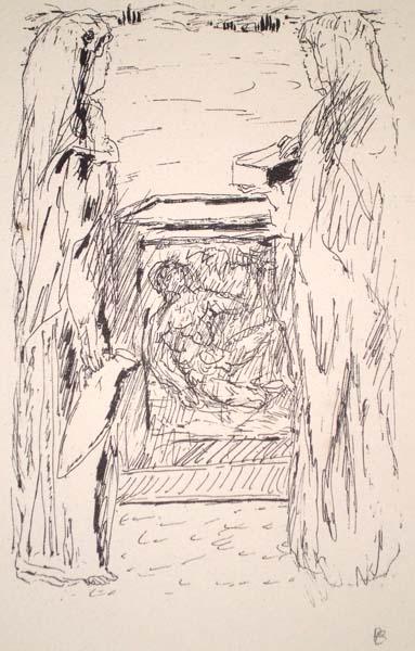 Pierre BONNARD (Francia, 1867 – 1947) – L'OFFERTA
