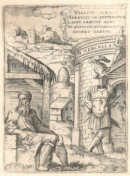 Giulio BONASONE (Bologna, circa 1498 – 1580) – VEIANIO