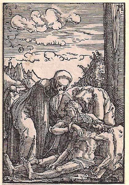 Albrecht ALTDORFER (Baviera, c.a 1480 – 1538) – IL COMPIANTO