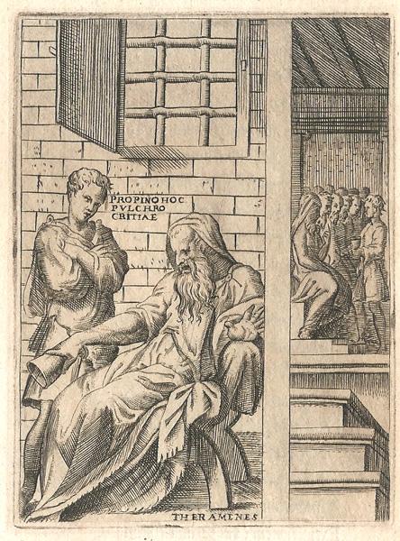Giulio BONASONE (Bologna, circa 1498 – 1580) – TERAMENE