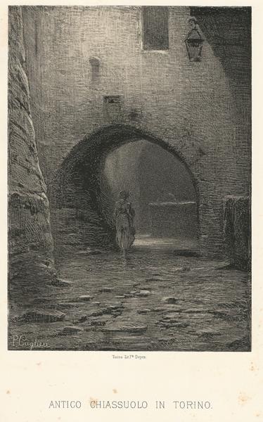 Pio CAGLIERI (Torino, 1849 – ?) – ANTICO CHIASSUOLO IN TORINO