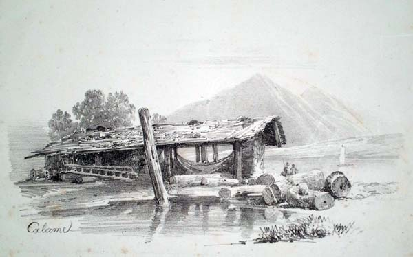 Alexandre CALAME (Svizzera, 1810 – 1864) – PAESAGGIO