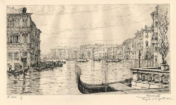 Antonio CARBONATI (Mantova, 1893 – 1956) – VENEZIA (1922)
