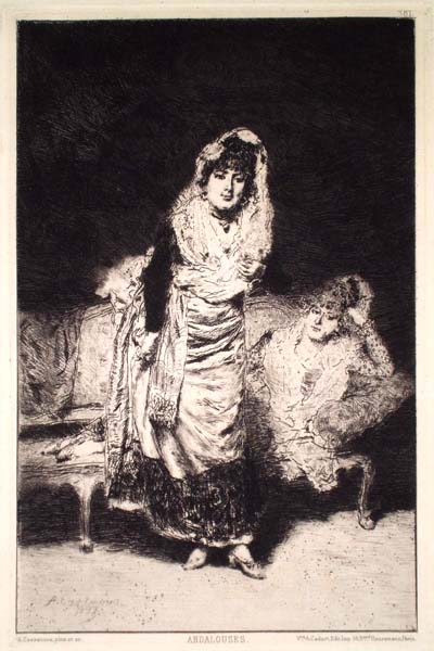 Antonio CASANOVA y Estorach (Spagna, 1847 – 1896) – ANDALOUSES