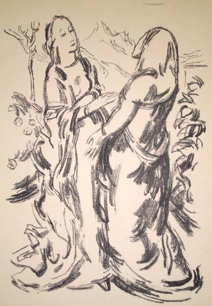 Karl CASPAR (Germania, 1879 – 1956) – HEIMSUCHUNG