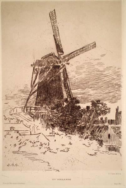 Jean-Charles CAZIN (Francia, 1841 – 1901) – EN HOLLANDE