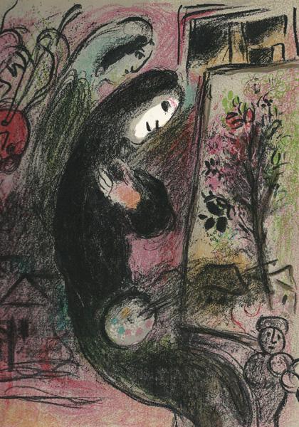 Marc CHAGALL (Russia, 1887 – 1985) – L'INSPIRÉ (1957-62)