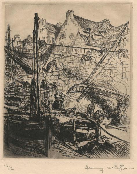 Henry Lucien CHEFFER (Francia, 1880 – 1957) – PORTO